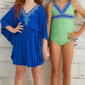 Girls Cabana Life UV 50+  Swimsuit & Cover-up